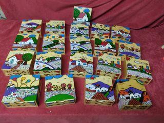 Cajas maderas