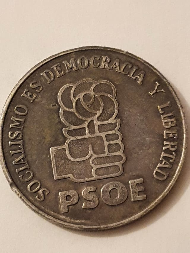 Felipe Gonzales commemorative coin