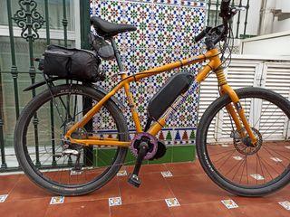 bicicleta eléctrica 36v- 250w motor central