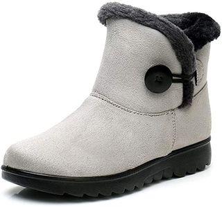 Zapatos Invierno Mujer Botas de Nieve Forrada