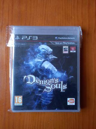 Demon's Souls ps3 como nuevo