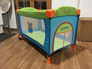 Parque-cuna bebé Hippo