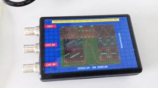 osciloscopio 2c gen. funciones frecuencimetro USB