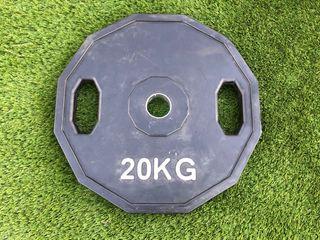 Discos pesas olímpicos de cuacho 20kg