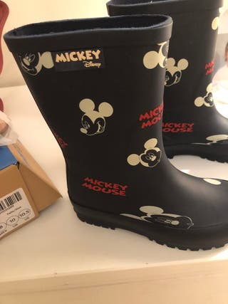Botas de agua mickey Zara