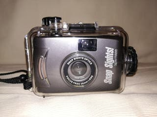 Mini cámara de buceo analógica