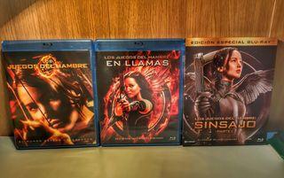 Los Juegos del Hambre (3 películas)
