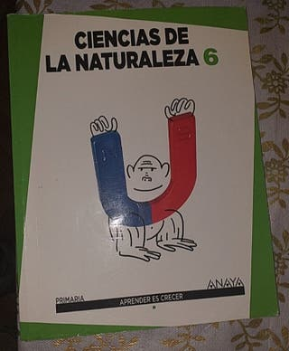 libro de ciencias naturales anaya