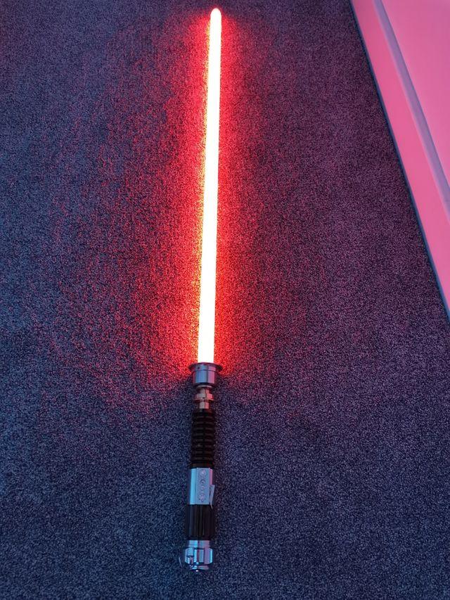 neopixel smooth swing Obi Wan Kenobi lightsaber