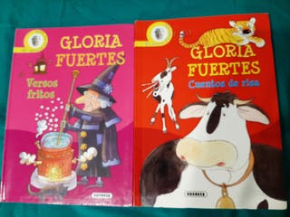 2 libros de cuentos de Gloria Fuertes