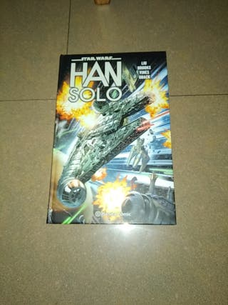 Comic Star Wars Han Solo