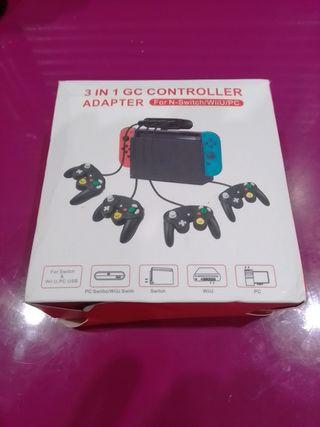 adaptador mandos gamecube