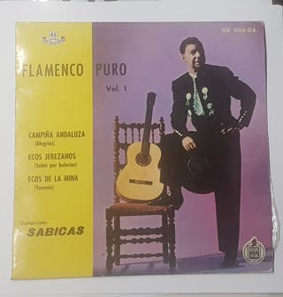 "DISCO SINGLE ""FLAMENCO PURO Vol. 1"""