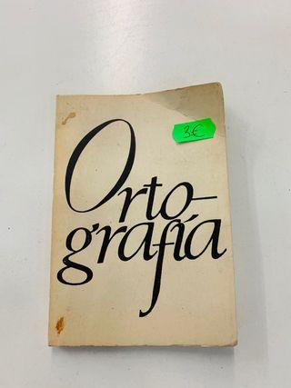 Ortografía cuaderno antiguo