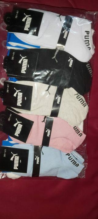 Calcetines de deporte Nike, Adidas y Puma