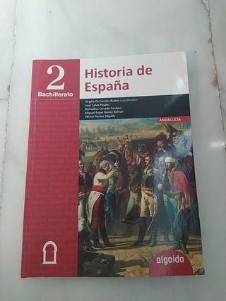 Libro Historia de España (2°Bachillerato)