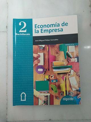 Libro Economía de la Empresa (2Bachillerato)
