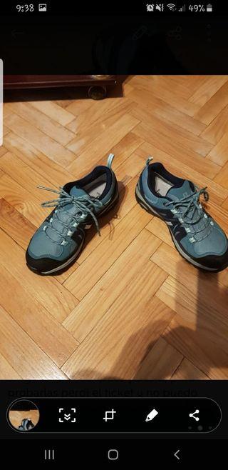 zapatillas Salomón de goretex