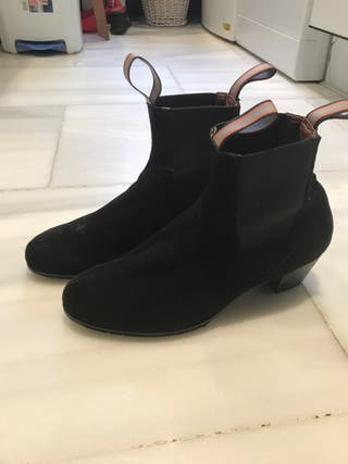 Botas de flamenco gallardo
