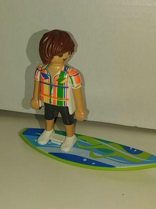 Surfero Mucho Playmobil en Perfil