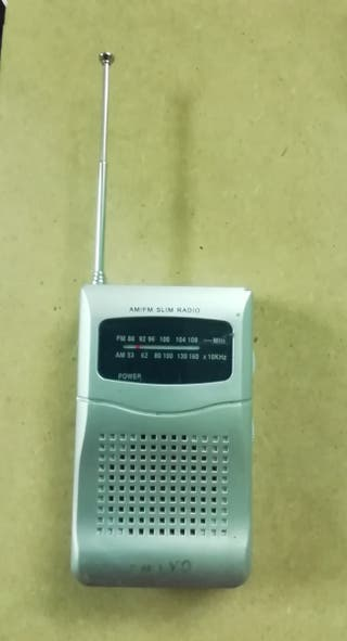 Radio transistor de bolsillo
