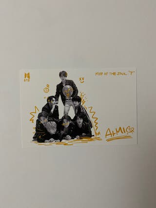 postcard bts ot7