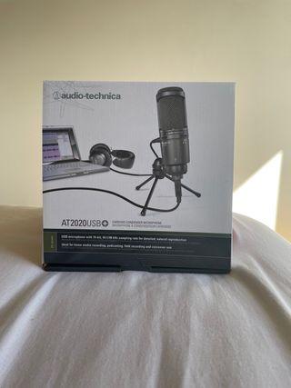 Audio-Tecnica AT2020 - Microfono de condensador