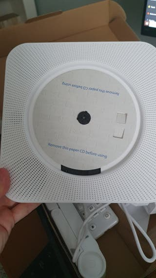 Reproductor CD + radio + usb