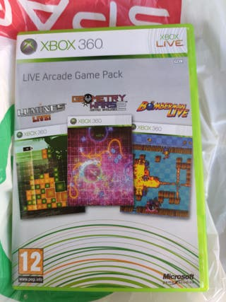 Live Arcade Game Pack Xbox 360
