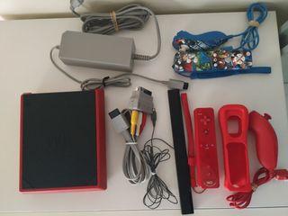 Wii Mini + Mando wii Remite Plus y Nunchaku