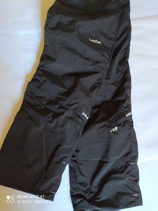 Pantalón de esquí hombre negro