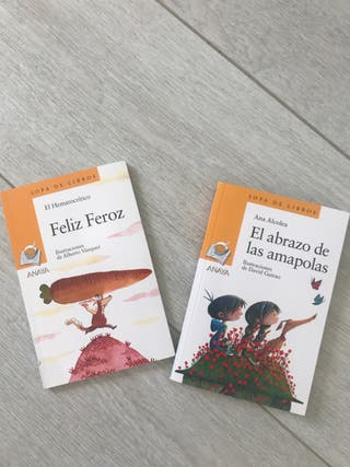Libros infantiles Feliz Feroz Abrazo Amapolas