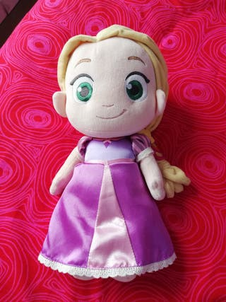 muñeca rapunzel animator peluche ORIGINAL NUEVO