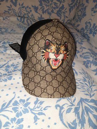 gorra gucci en perfecto estado autentica
