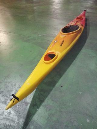 Kayak, piragua, canoa + remo, pala