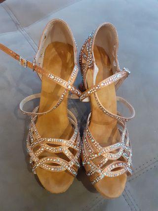Zapatos baile latinos