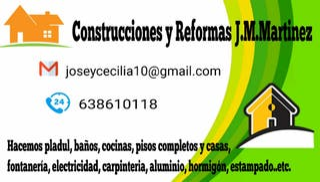 construcciones y reformas J.M.Martinez