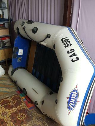 Barca màs motor electrico