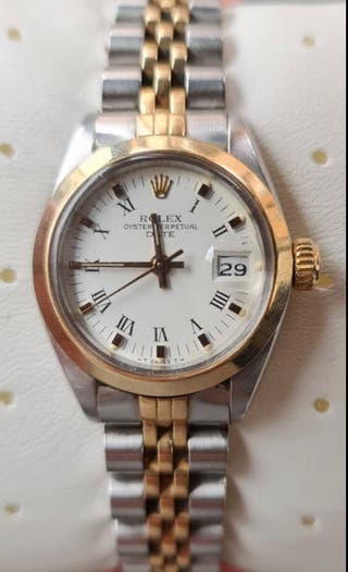 Rolex Oyster Perpetual Date acero y oro