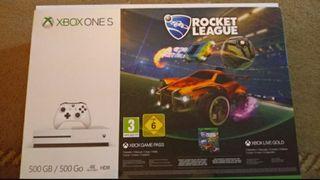 Xbox One S + 6 Videojuegos