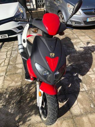 Moto 125 cc marca Jonway