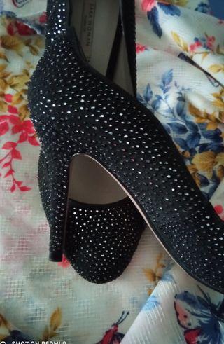Zapatos salón de fiesta Zara