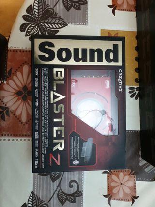tarjeta de sonido sounblaster Z