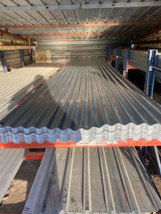 Chapas para techo galvanizadas