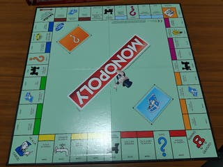 Monopoly clásico(Hasbro) calles de Madrid