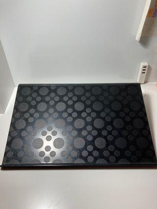 Soporte para ordenador portátil negro