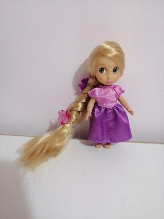 muñeca mini animator disney Rapunzel