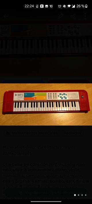 Mi Piano MP3. IMAGINARIUM