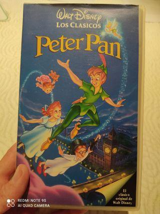 PELICULA VHS DISNEY PETER PAN
