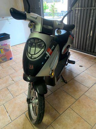 Moto bici elétrica